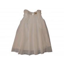Контраст бяла лятна рокля 98-122