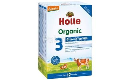 Holle 3 Bio Преходно мляко за деца 12м+ 600гр.