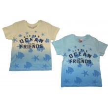 Тениска за момче Океан 92-116