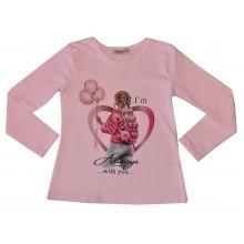 Мариела блуза за момиче Парти 104-134