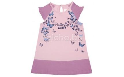 Лятна рокля Пеперуди 68