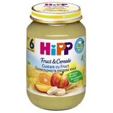 Хип Пълнозърнеста плодова каша 190гр.