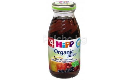 Хип сок Био Червени плодове 200мл.