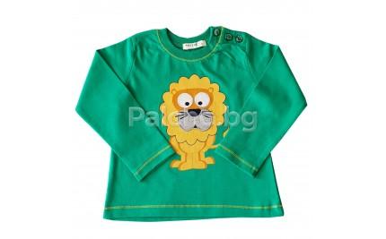 Блуза за момче Лъвчо 80-104