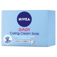 Nivea Baby Подхранващ крем сапун 100гр