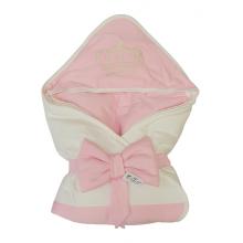 Бебешка луксозна пелена розова