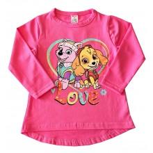 Детска блуза за момиче Paw Patrol 86-116