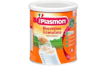 Гранулирани бисквити без глутен Plasmon бишкоти 374гр.