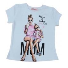 Мариела тениска за мама и дете 92-140  XS-L
