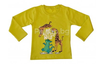 Детска блуза за момче Джунгла 80-110