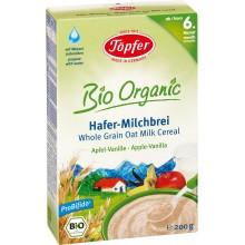 Тьопфер каша - Topfer инстантна каша Овес, ябълка и ванилия 175гр.