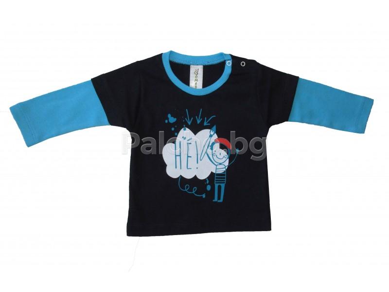 9b1175423a5 Детска блуза Моливче 62-86 | Бебешки дрехи 0-2г. | Палчо - детски ...