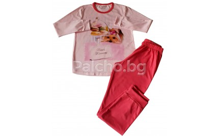 Пижама за момиче French Macarons 98-152