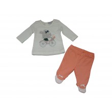 Бебешки комплект Зайче 50-68