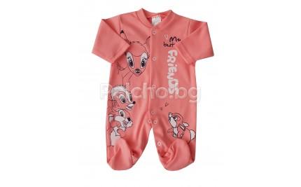 Бебешки гащеризон Бамби 56-68