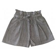 Контраст Къси панталони за момиче Каре 128-170