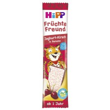 Hipp Bio Плодов бар Леопард - Йогурт, Вишна и Банан 23гр