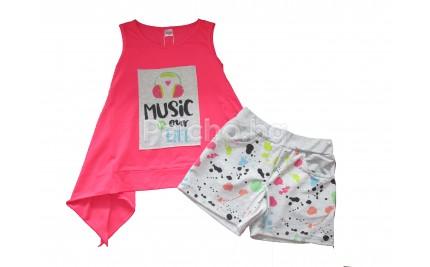 Летен комплект за момиче Music 134-158