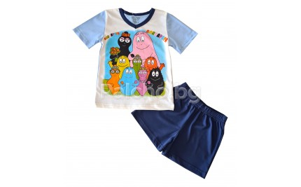 Лятна пижама за момче Барбарони 92-104