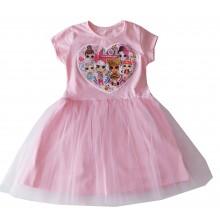 Детска рокля Лоли 116-128