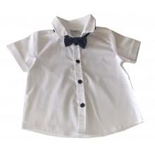 Риза с папионка Контраст 74-92