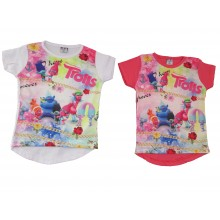 Блуза за момиче Тролчетата 80-104