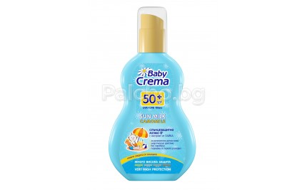 Baby Crema Слънцезащитно мляко SPF 50+ 150мл