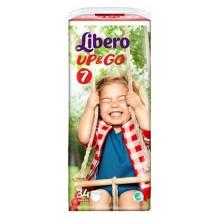 Либеро гащи - Libero Up&Go 7 гащи 16-26кг. 34бр.