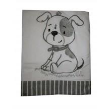 Бебешка пелена Кученце 90/90 см