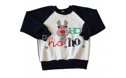 Коледна блуза Рудолф 98-122