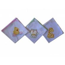 Пелена тънка памучна 85/85 см
