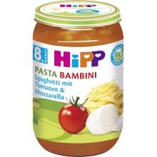 Хип пюре - Hipp Bio Спагети с домати и моцарела 220гр.