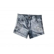 Къси дънкови панталонки за момиче 74-128