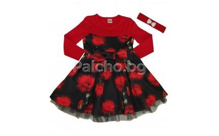 Ким кидс рокля Макове 86