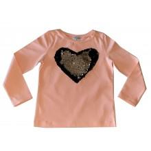 Контраст Блуза Сърце 92-116