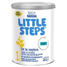 Нестле Little steps 1 - Nestle Little steps 1 Мляко за кърмачета 0м+ 400гр.
