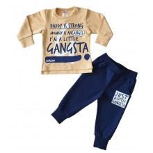 Морисимо Комплект за момче Little gangsta 80-98