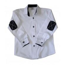 Бяла риза за момче 110-128