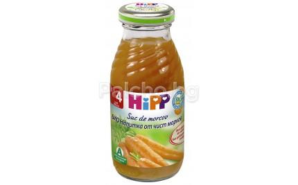 Hipp Bio Напитка от морков 200мл.