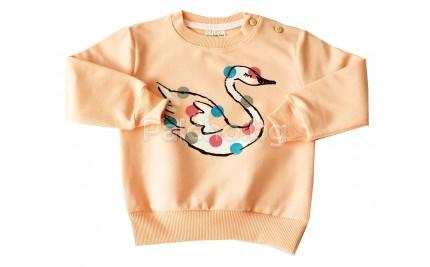 Блуза за момиче Лебед 74-98