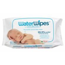 Water wipes Влажни кърпи (99,9% вода) 60бр.