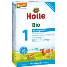 Holle 1 Bio Мляко за бебета 0-6м. 400гр.