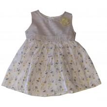 Бебешка рокля Цветя 68-92