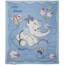 Бебешко одеяло Слонче