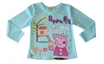 Детска блуза за момиче Пепа Пиг 92-116