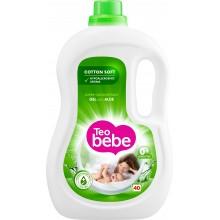 Тео бебе течен прах за бебета - Teo bebe Течен перилен препарат Алое вера 2.2л.