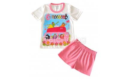 Лятна пижама за момиче Барбарони 92-110