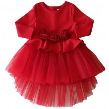 Официална рокля Рози Контраст 68-122