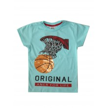 Тениска за момче Баскет 98-122