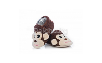 Attractive baby пантофки маймунка